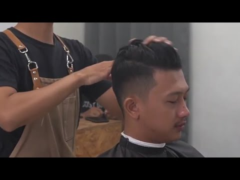 GAYA RAMBUT PRIA KEREN 2020 / BELAH SAMPING - YouTube