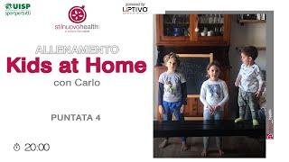 Allenamento KIDS AT HOME - 4