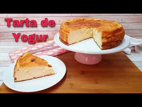 TARTA DE YOGUR GRIEGO, mucho más ligera que la tarta de queso!! (Pastel Turco)
