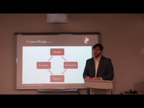 Creating an Effective Online Course: An Overview of General Pedagogy