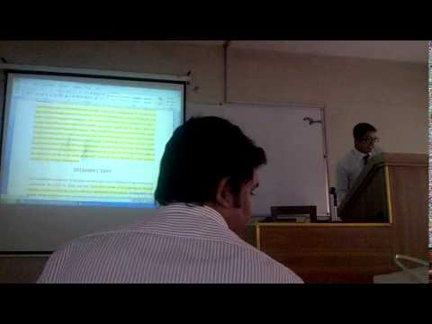 UNIVERSITY OF DHAKA (raw presentation in the class)
