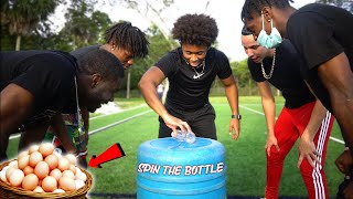 Spin The Bottle Challenge! (EGG SHOTS) | *Danger Game*