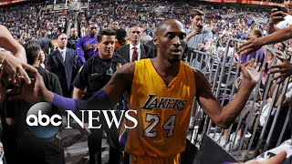 World reels over the loss of NBA legend Kobe Bryant