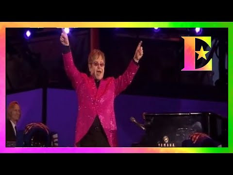 Elton John - Your Song (Live at Queen