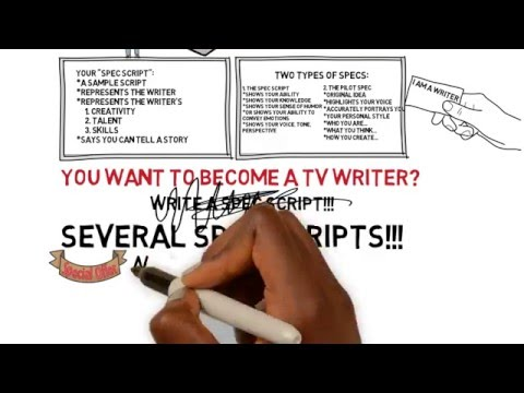 How To Get a TV Writer Job - What is a Spec