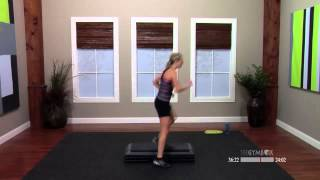 Step aerobics routines with Jenni  60 Minutes