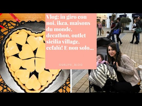 vlog in giro con noi ikea maisons du monde decathlon outlet sicilia village cefal e non. Black Bedroom Furniture Sets. Home Design Ideas