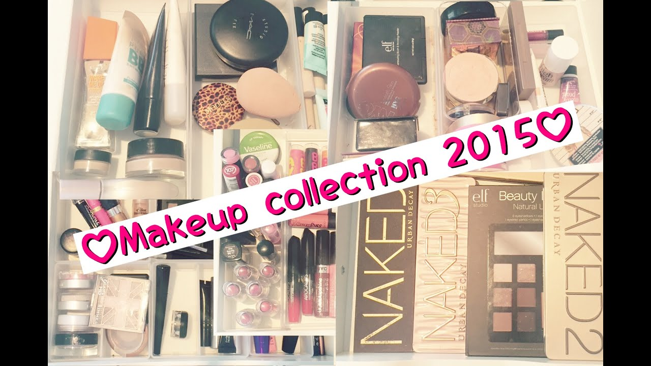Makeup Collection 2015! (13 year old!)