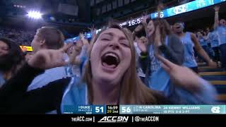 Duke vs North Carolina College Basketball Condensed Game 2018