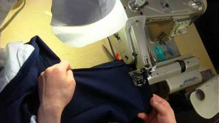 how to hem pants with blind stitch