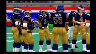 New England Patriots vs St. Louis Rams Pretend Super Bowl 36 Madden NFL 2002