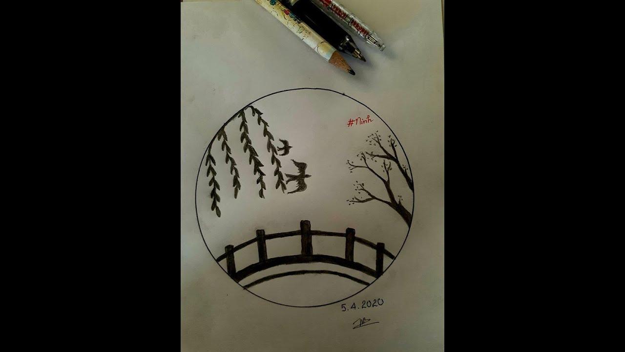 Vẽ Tranh Bút Chì Đơn Giản – Tập Vẽ EP.1