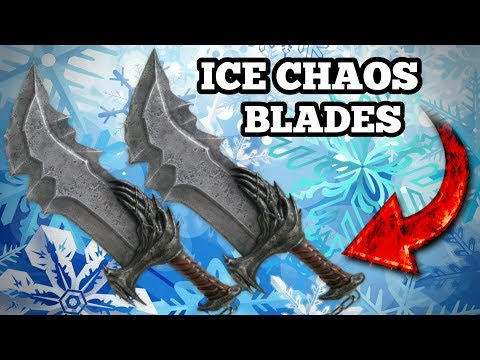 God Of War - Ice Chaos Blades Tutorial How to Make LIFECHEATER