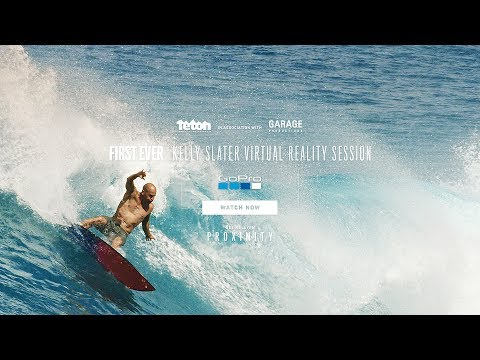 First Ever Kelly Slater Virtual Reality Surf Session
