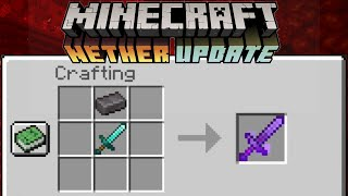 Minecraft 1.16 Nether Update: NETHERITE IS BETTER THAN DIAMONDS!!