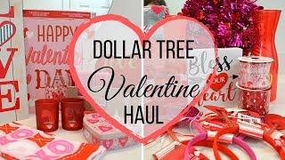 Dollar Tree Valentine's Day Haul I Valentine's Decor I #Dollartreehaul #Valentinesday #Valentinehaul