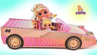 АВТО  ТАНЦПОЛ  БАССЕЙН  Lol Surprise Car - Pool Coupe ЭКСКЛЮЗИВНАЯ КУКЛА ЛОЛ МАЙ ТОЙС ПИНК