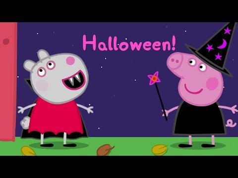 Peppa Pig Nederlands | Halloween! - Compilatie