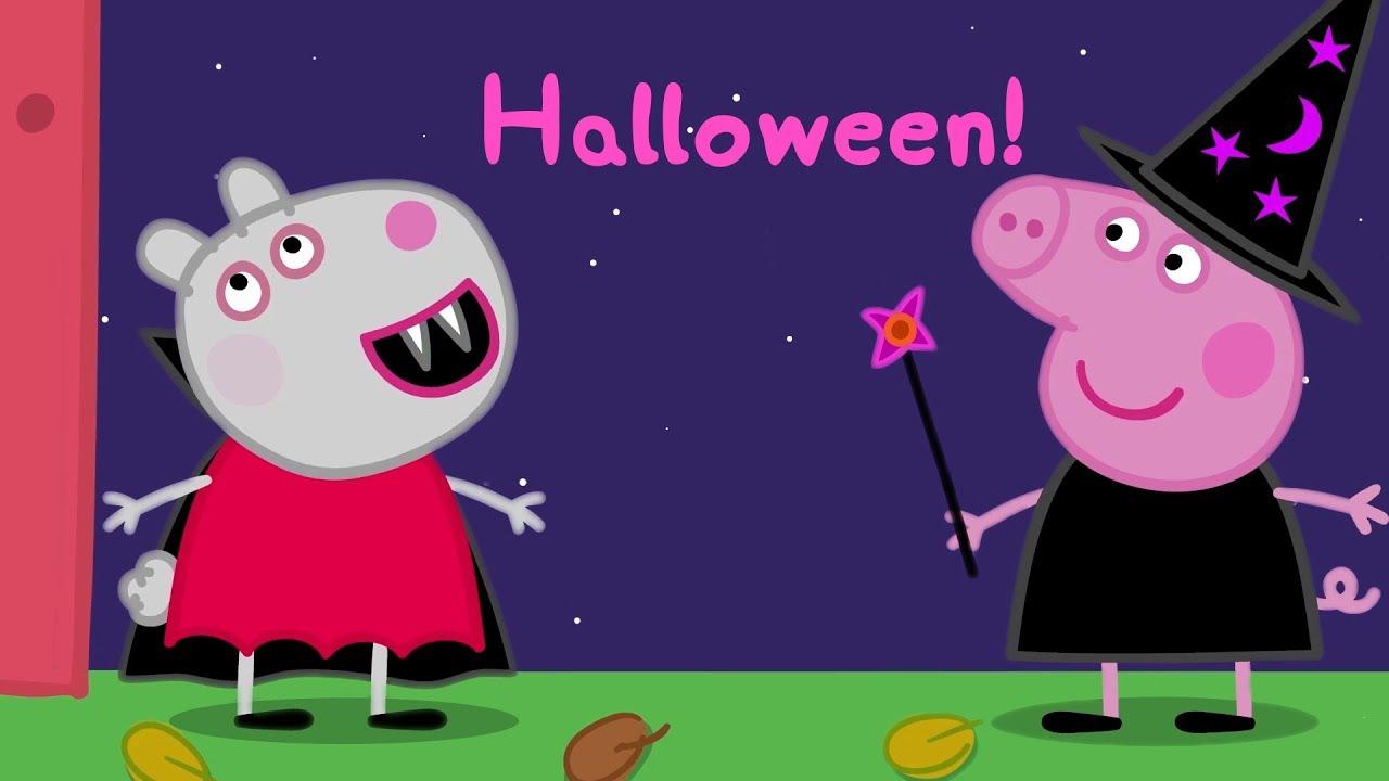 Halloween Filmpjes Nederlands.Peppa Pig Nederlands Compilatie Nieuwe Afleveringen Halloween Tekenfilm Peppa De Big