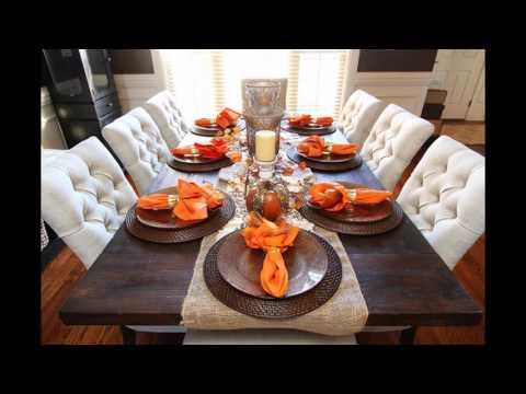 Popular Fall table decorations ideas