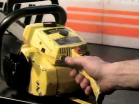 The Chainsaw Guy Shop Talk Mcculloch Pro Mac 700 Chainsaw border=
