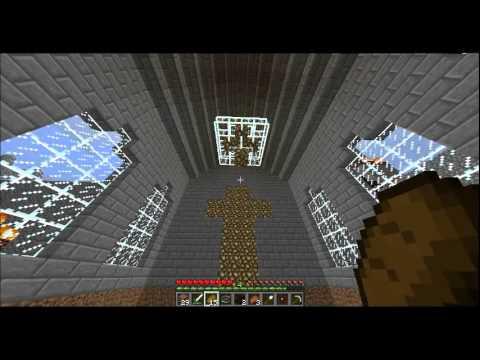Starrod S Minecraft Server Glowstone Chandelier Youtube