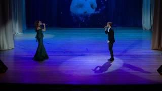 """кавер на песню  Наргиз и Макса Фадеева  Eva Richie & Maxim Malin """"Мы вдвоем"""""""