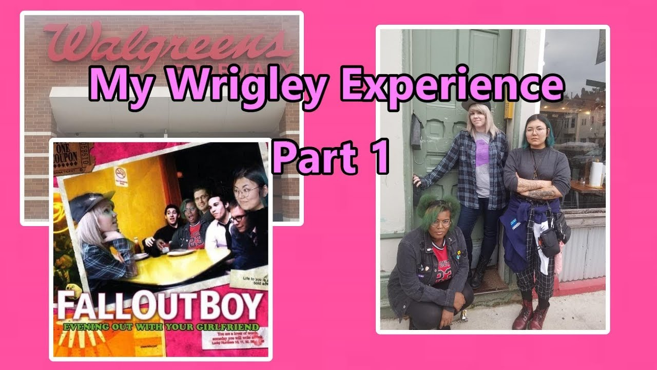 Fall Out Boy My Wrigley Experience Part 1 Youtube