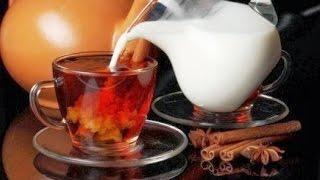 видео Как сделать чай с молоком