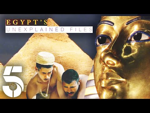 How Were The Egyptian Pyramids Built? | Egypt's Unexplained Files | Channel 5 #AncientHistory