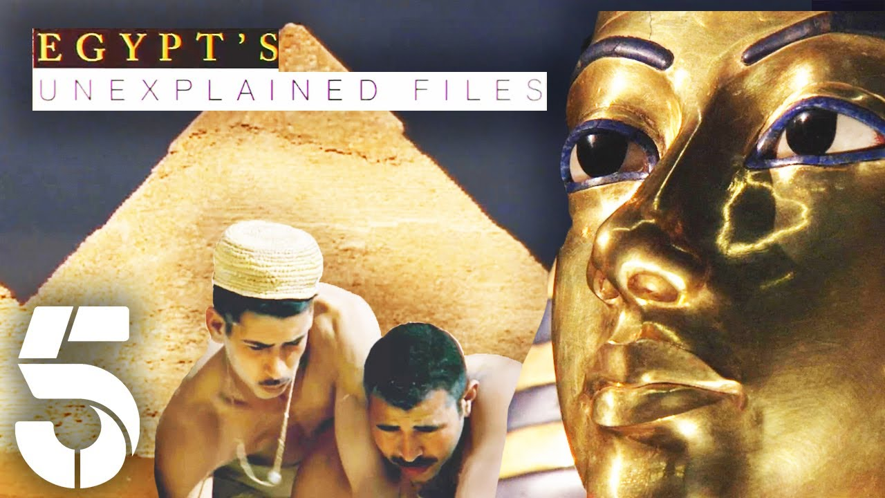 How Were The Egyptian Pyramids Built?   Egypt's Unexplained Files   Channel 5 #AncientHistory