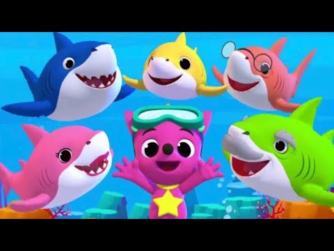 Baby Shark Different Versions And Games | Pinkfong Sing And Dance Animal Song - Educational App