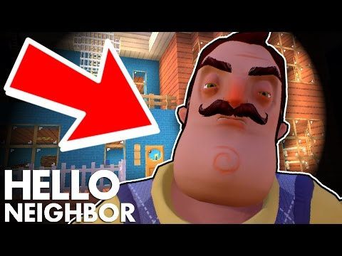 Minecraft Hello Neighbor - Trapped In A Hole By The Neighbor (Minecraft Roleplay) - 동영상