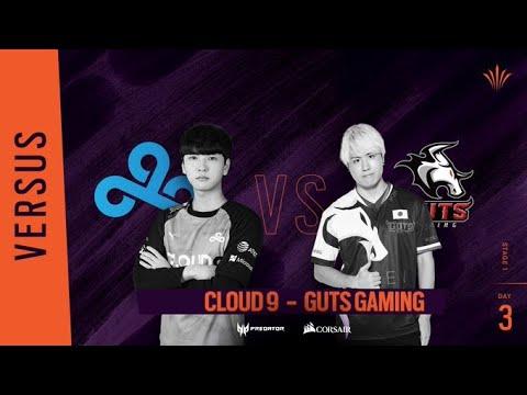 GUTS Gaming vs Cloud 9 // Rainbow Six APAC North Division - Playday #3