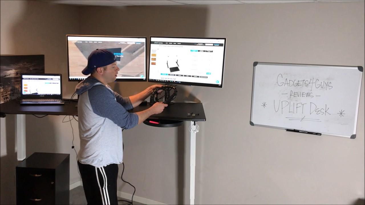 UPLIFT Adjustable SitStand Desk Review YouTube