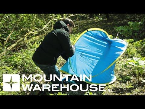 folding up pop up tent mountain warehouse