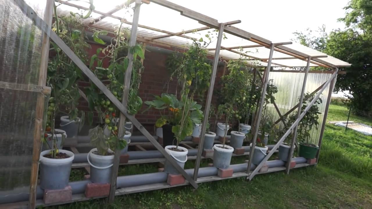 Hybrid Rain Gutter Grow System From Germany Awesome Setup