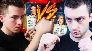 BITWA IKON vs URBIX! MATTHAUS 93 VS PETIT 90! | FIFA 18 ULTIMATE TEAM