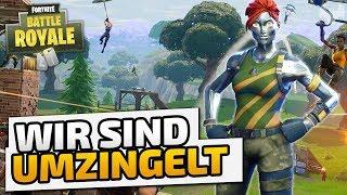 Wir sind umzingelt - ♠ Fortnite Battle Royale ♠ - Deutsch German - Dhalucard