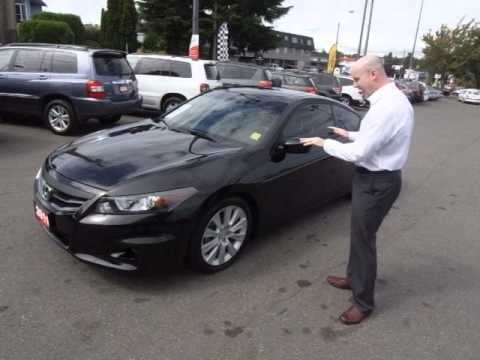 2011 Accord EX L V6 Coupe With HFP @ Campus Honda   YouTube