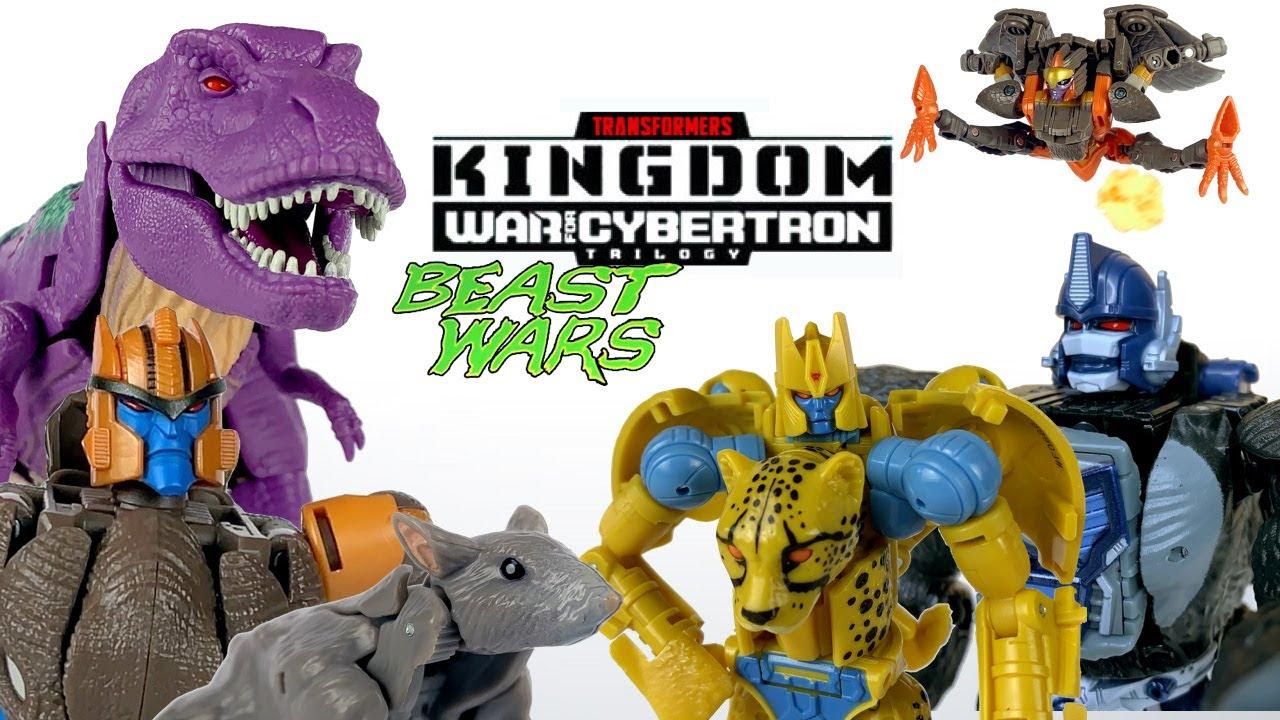 Download Transformers WFC: Kingdom Stop Motion Compilation | Beast Wars Transformation Animation