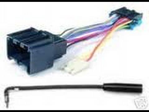 fiero radio install - youtube - 87 camaro radio wiring diagram