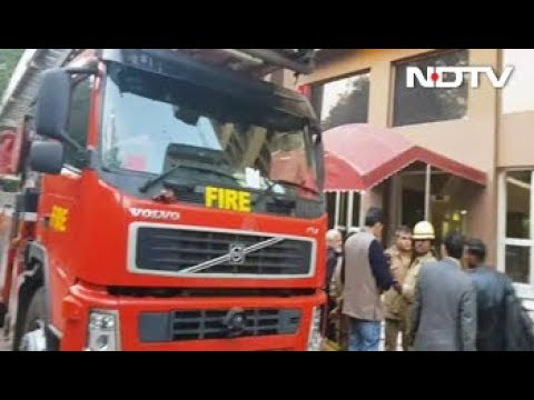 Short Circuit Causes Major Fire In Kailash Building In Delhi's Connaught Place