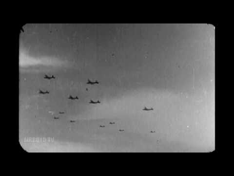 First American Daylight Bombing Of Germany