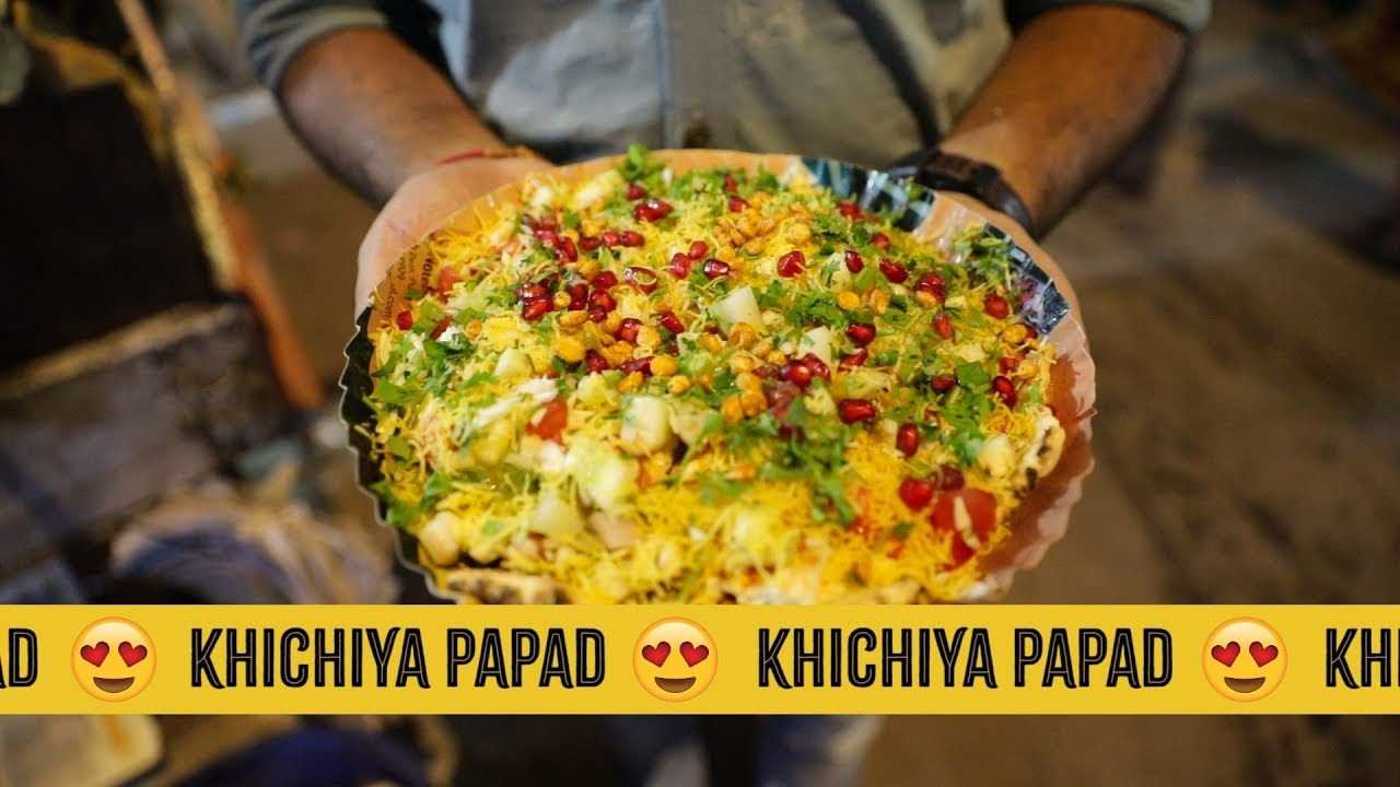 Khichiya Papad : An innovation To The Regular Masala Papad! - YouTube