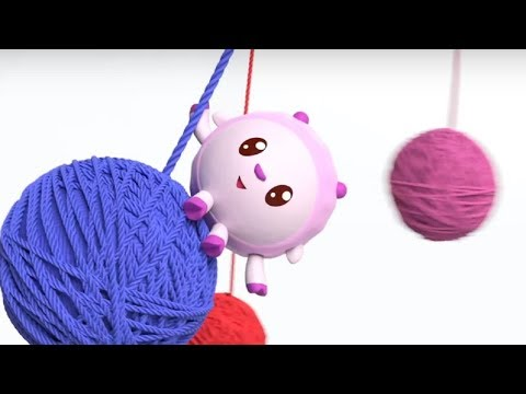 Малышарики - песенка - Три клубочка -  для самых маленьких - клип на песню