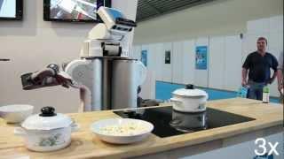 PR2 Serving Popcorn at Automatica 2012