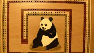 Panda Cribbage Box