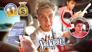 FAKE LOTTERY TICKET PRANK **they thought they won** thumbnail