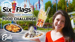 Ultimate Six Flags Food Challenge: Trying All Of The Magic Mountain Treats